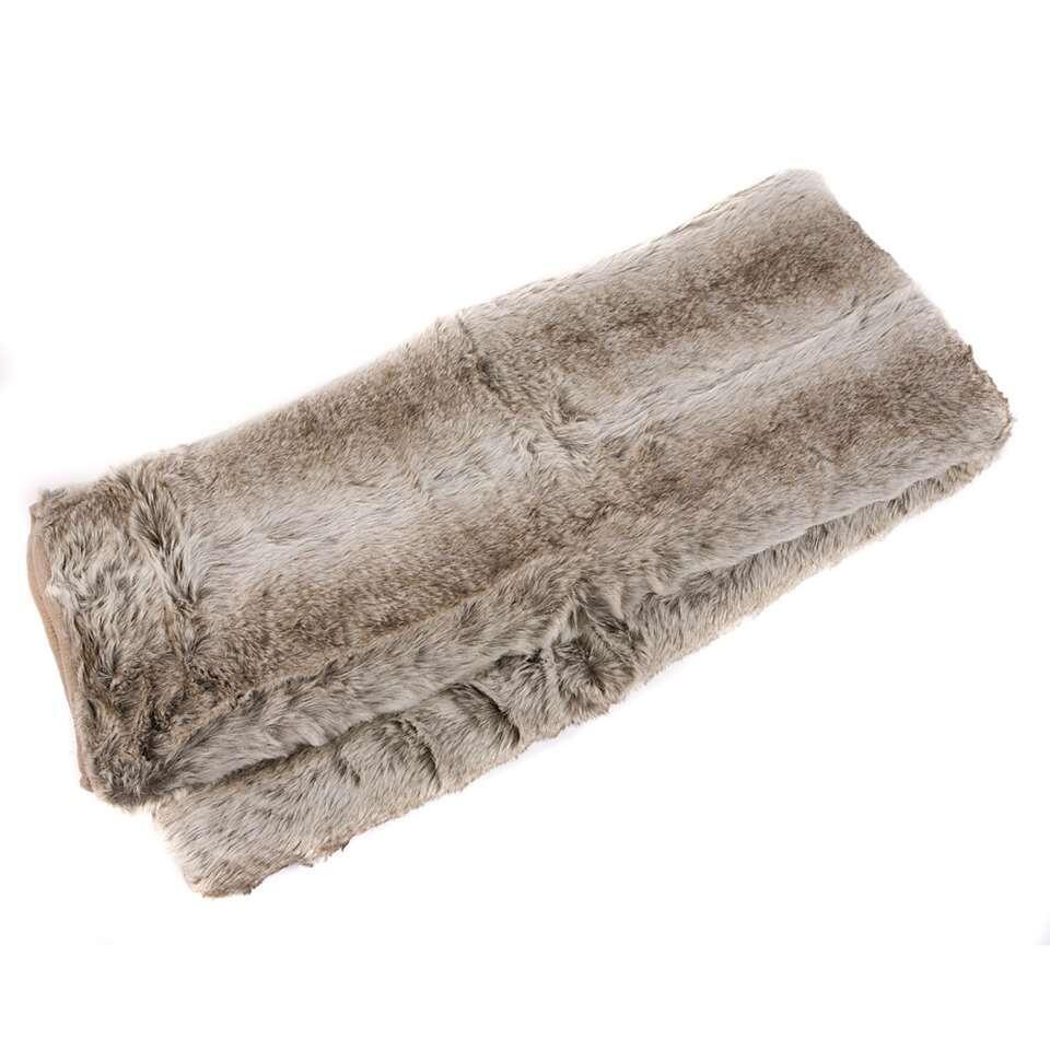Plaid Donna - antraciet - 140x180 cm