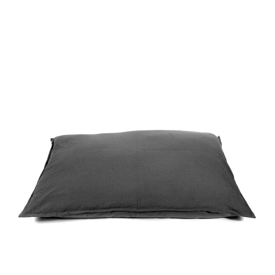 Kussen Tivoli XL - antraciet - 100x70 cm