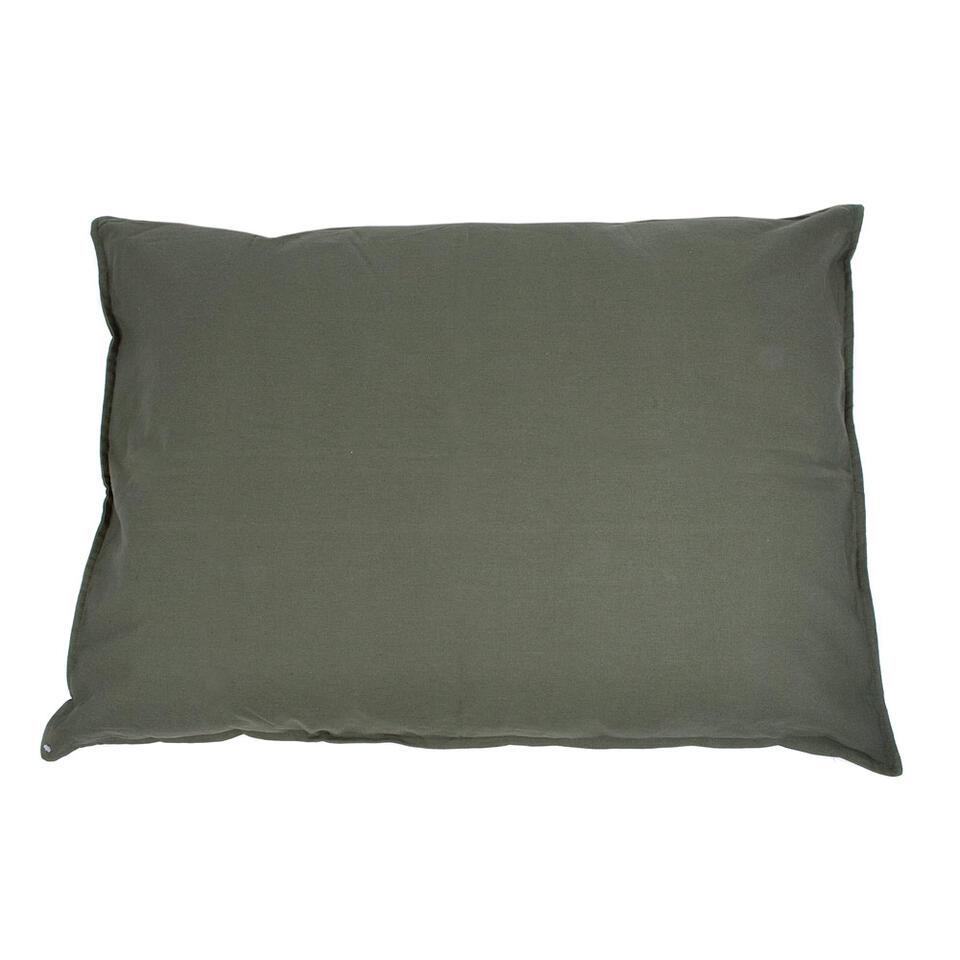 Kussen Tivoli XL - groen - 100x70 cm