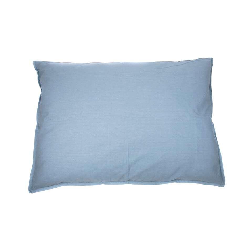 Kussen Tivoli XL - blauw - 100x70 cm