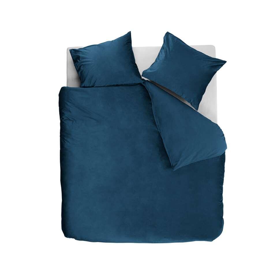 At Home by Beddinghouse dekbedovertrek Tender - blauw - 240x220/220 cm - Leen Bakker
