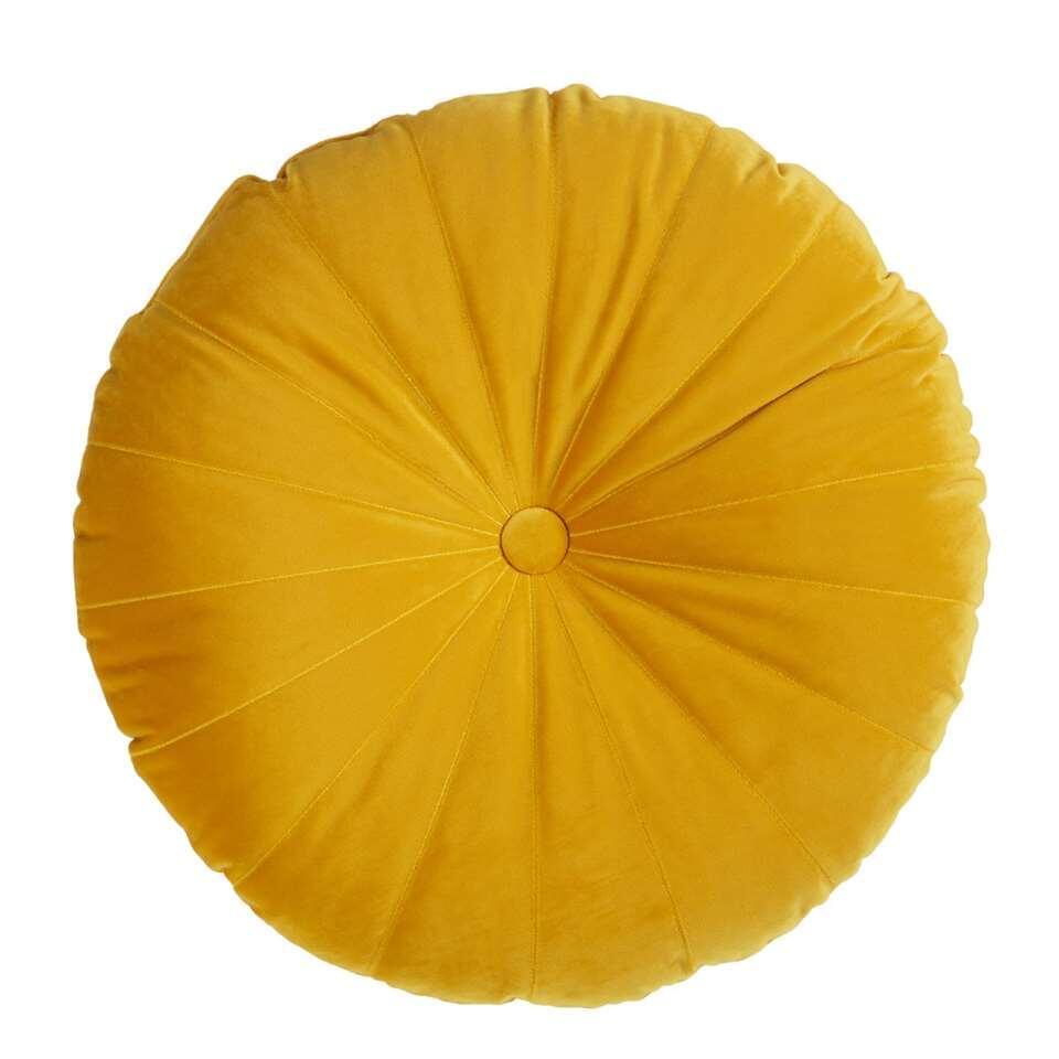 KAAT Amsterdam sierkussen Mandarin - geel - 40x40 cm - Leen Bakker