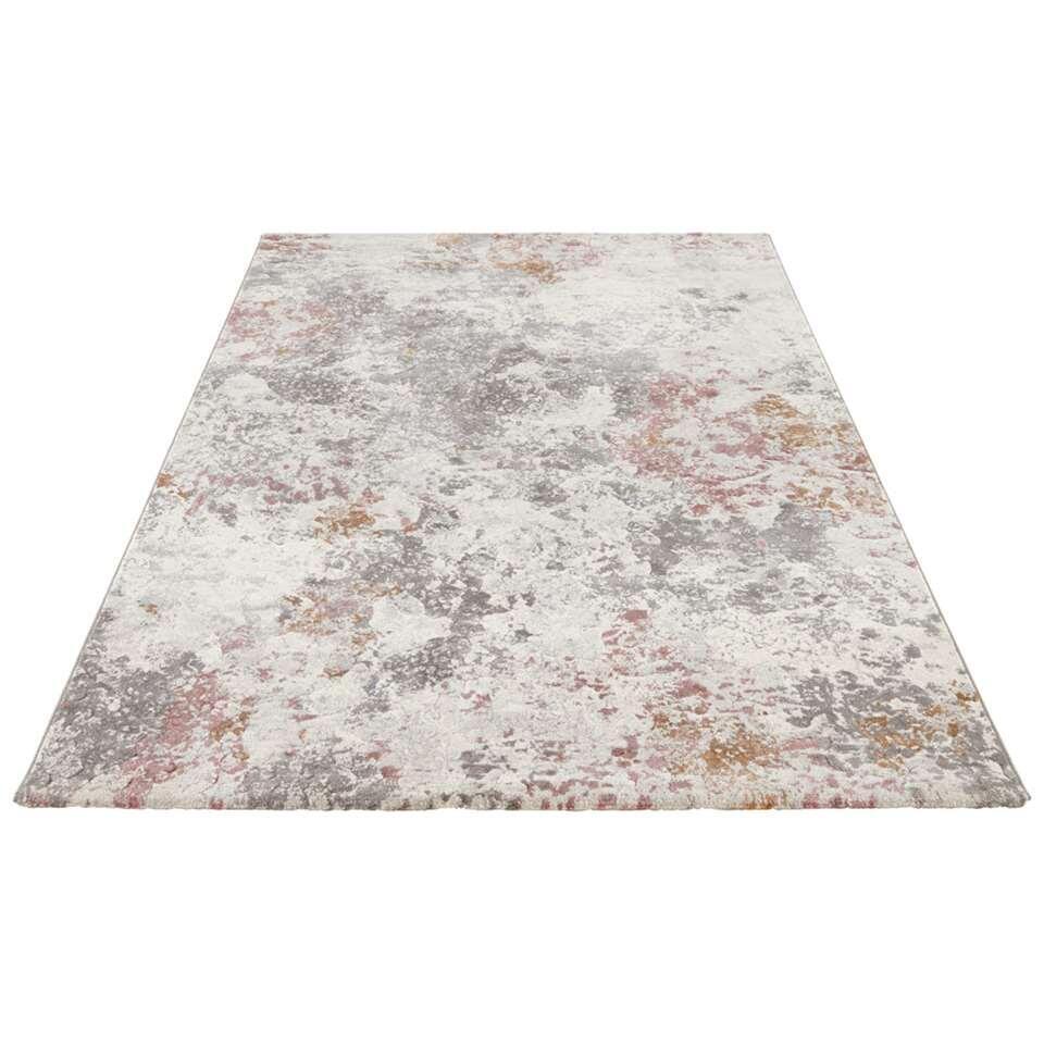 Elle Decor vloerkleed Fontaine - rood - 200x290 cm - Leen Bakker