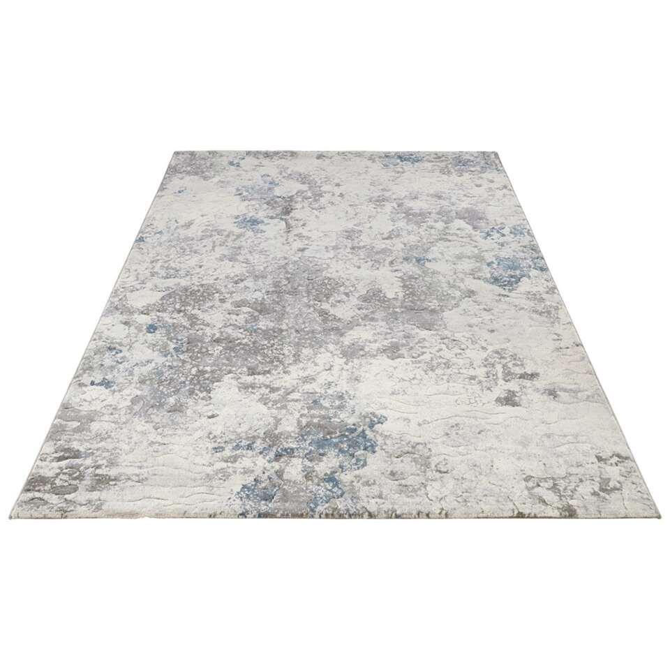 Elle Decor vloerkleed Fontaine - blauw - 200x290 cm - Leen Bakker