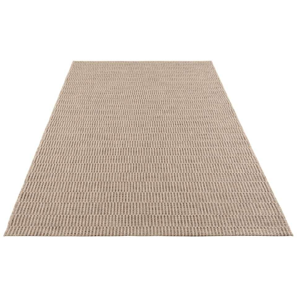 Elle Decor vloerkleed Dreux - naturel/bruin - 80x150 cm - Leen Bakker