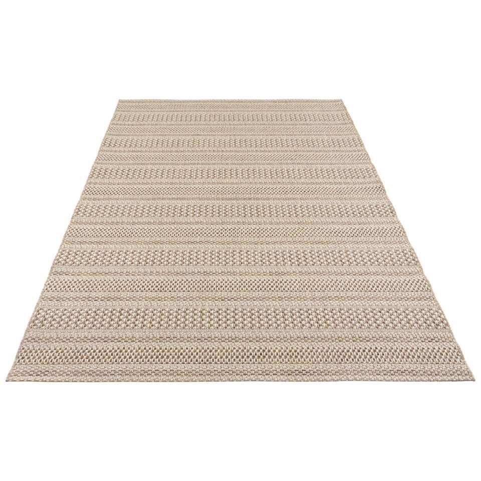 Elle Decor vloerkleed Arras - naturel/bruin - 80x150 cm - Leen Bakker