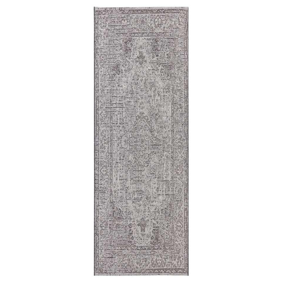 Elle Decor vloerkleed Cenon - grijs - 77x200 cm - Leen Bakker
