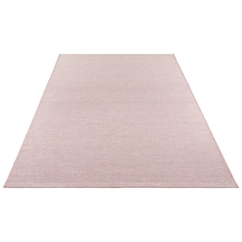 Elle Decor vloerkleed Millau - roze - 80x150 cm - Leen Bakker