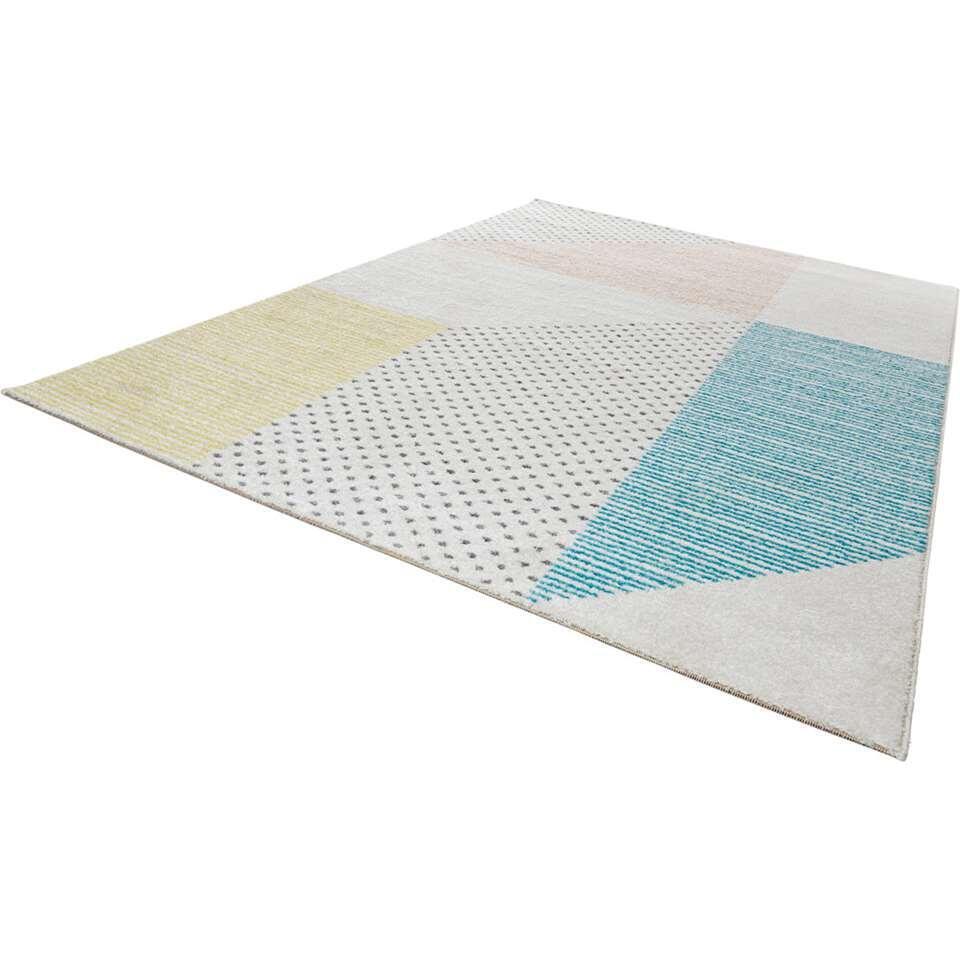 Mint Rugs vloerkleed Glaze - multikleur - 160x230 cm - Leen Bakker