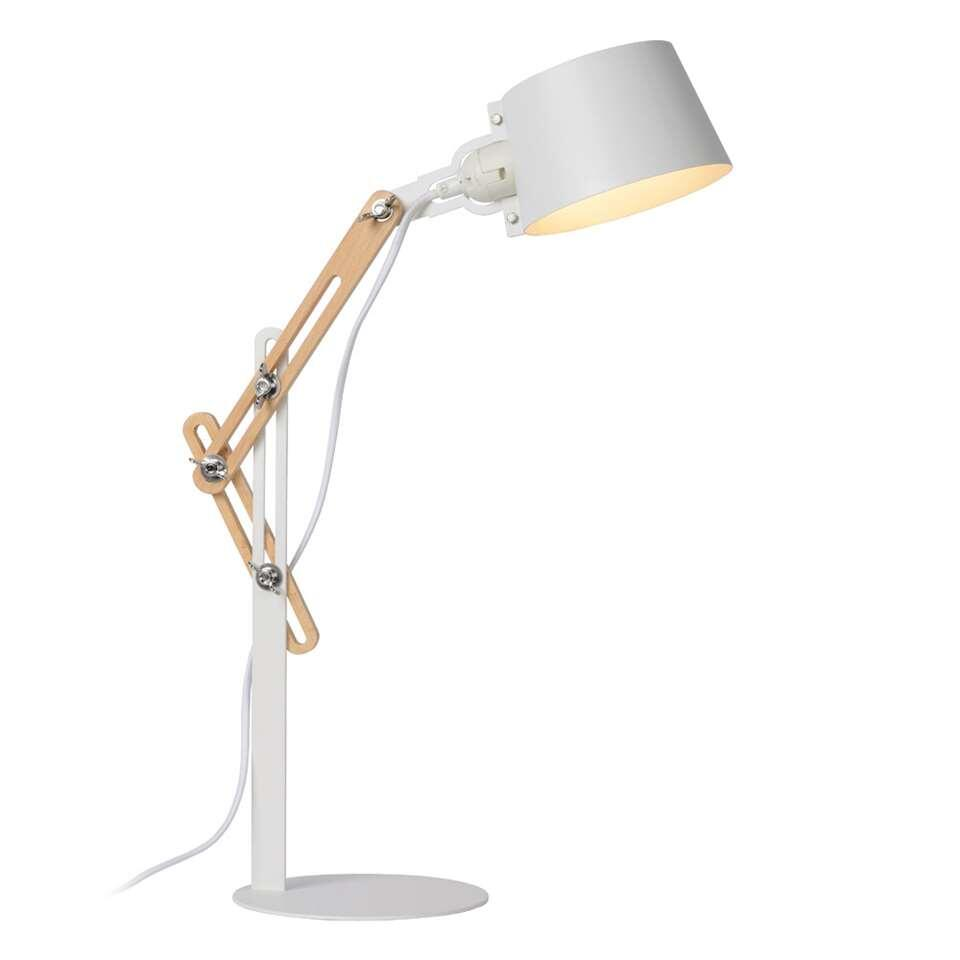 Lucide bureaulamp Kreen - wit - 46x18x65 cm
