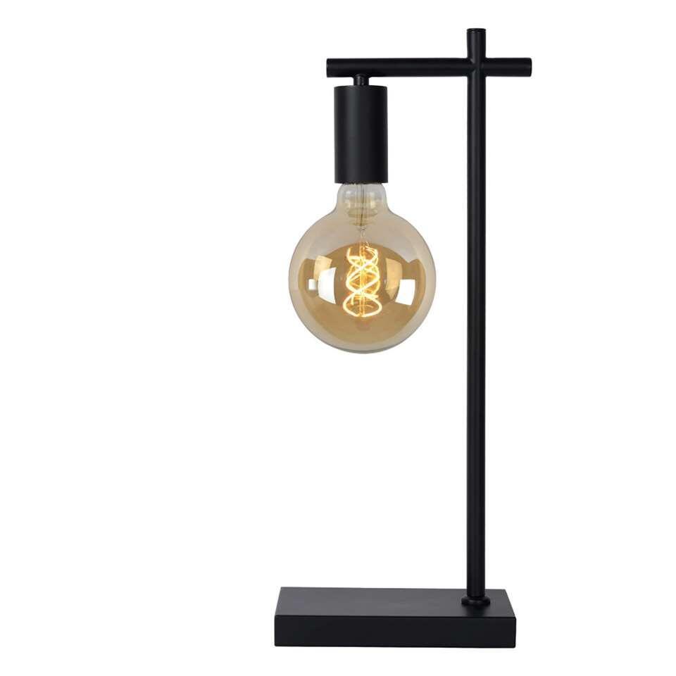 Lucide tafellamp Leanne - zwart - 21x12x52 cm