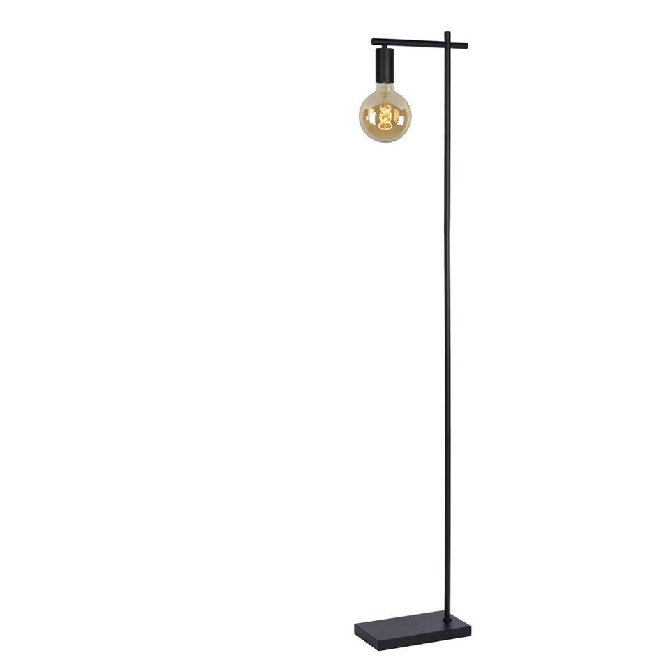 Lucide vloerlamp Leanne - zwart - 26x15x152 cm