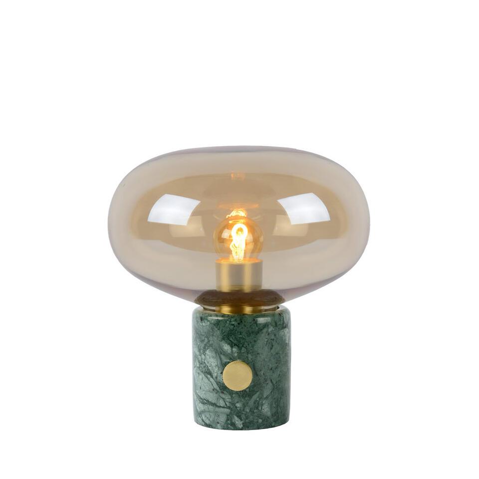 Lucide tafellamp Charlize - amber - 23x24 cm