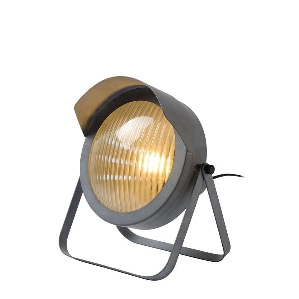Lucide tafellamp Cicleta - grijs - 29,5x25x30,5 cm