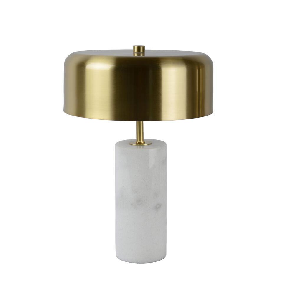 Lucide tafellamp Mirasol - wit - 25x30 cm