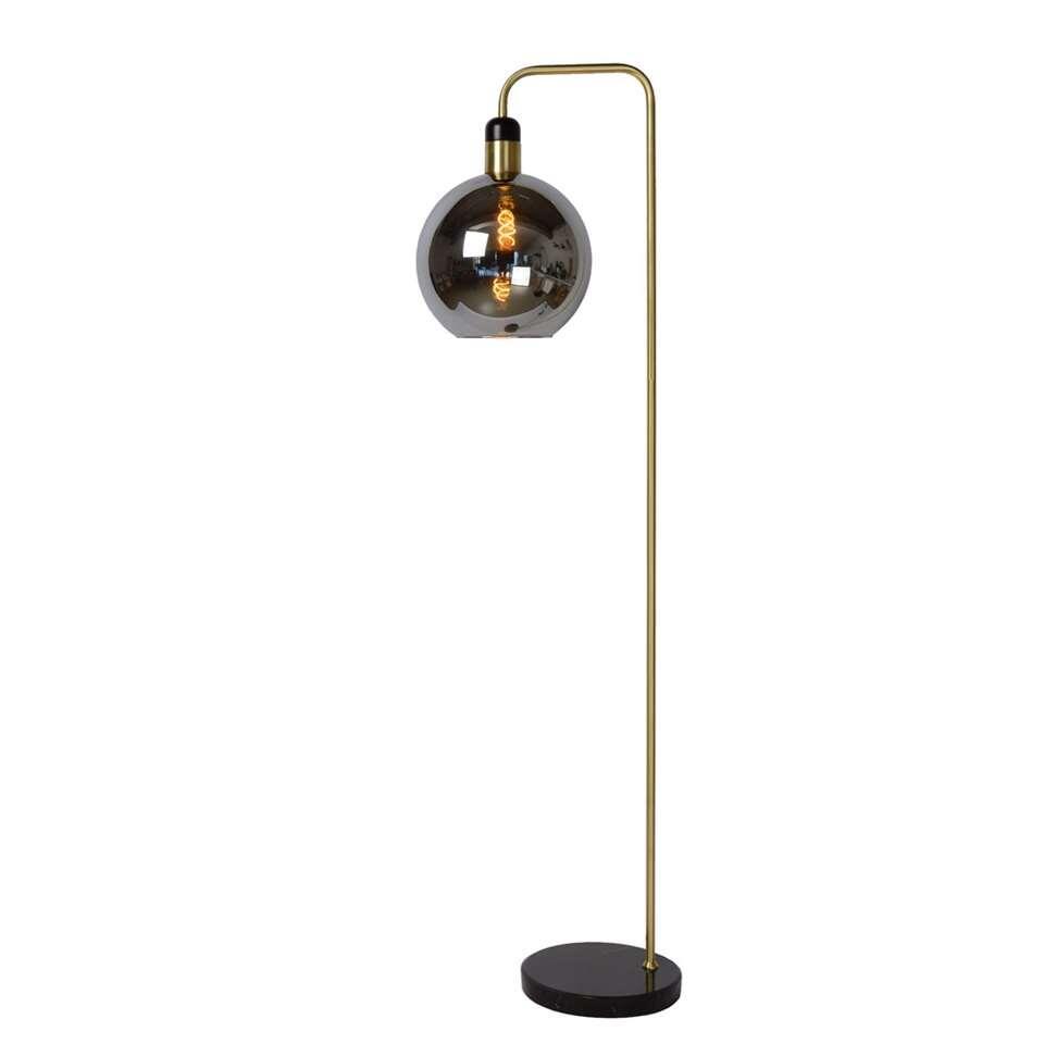 Lucide vloerlamp Julius - grijs - 28x44x158 cm