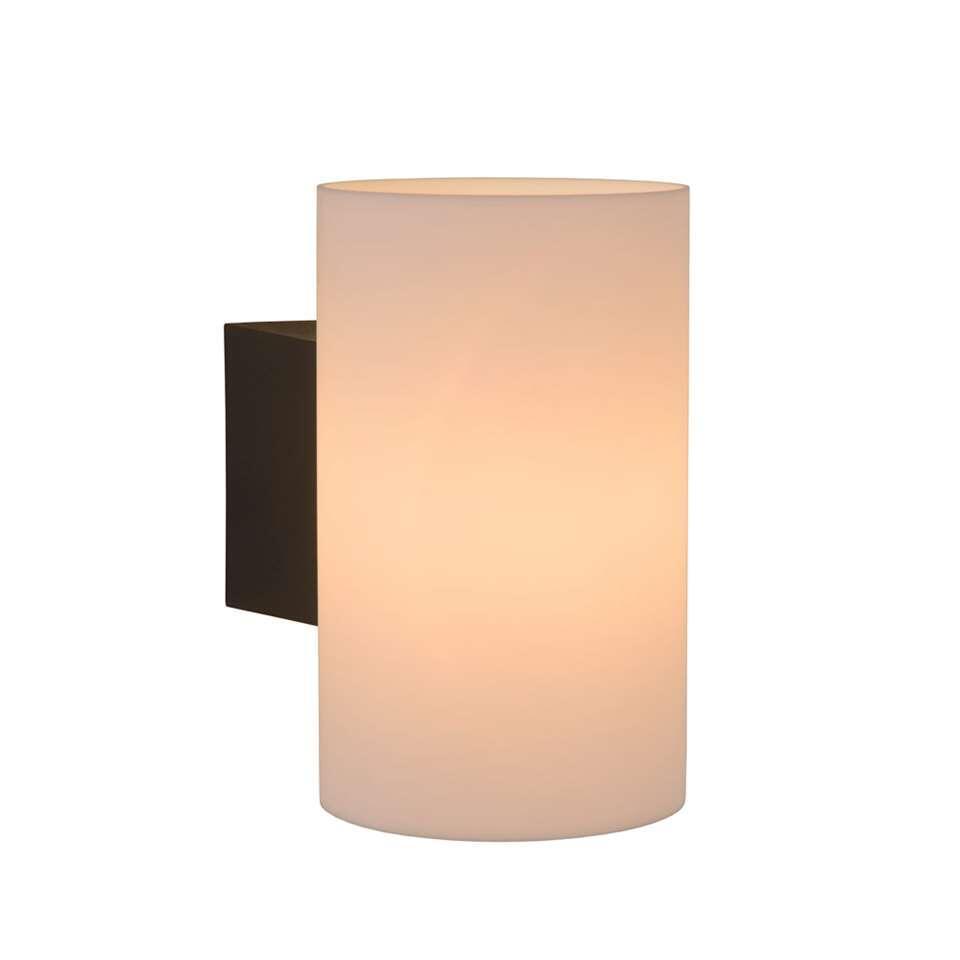 Lucide wandlamp Mart - opaal - 17,5x12x20 cm