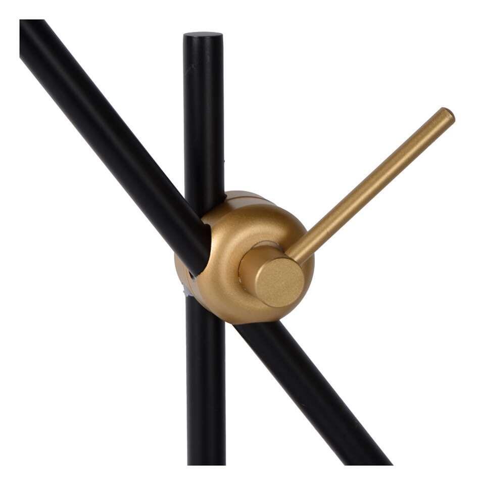 Lucide bureaulamp Philine - zwart - 47x47x50 cm