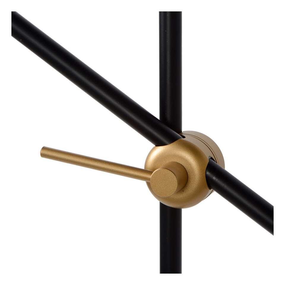 Lucide leeslamp Philine - zwart - 66x66x165 cm