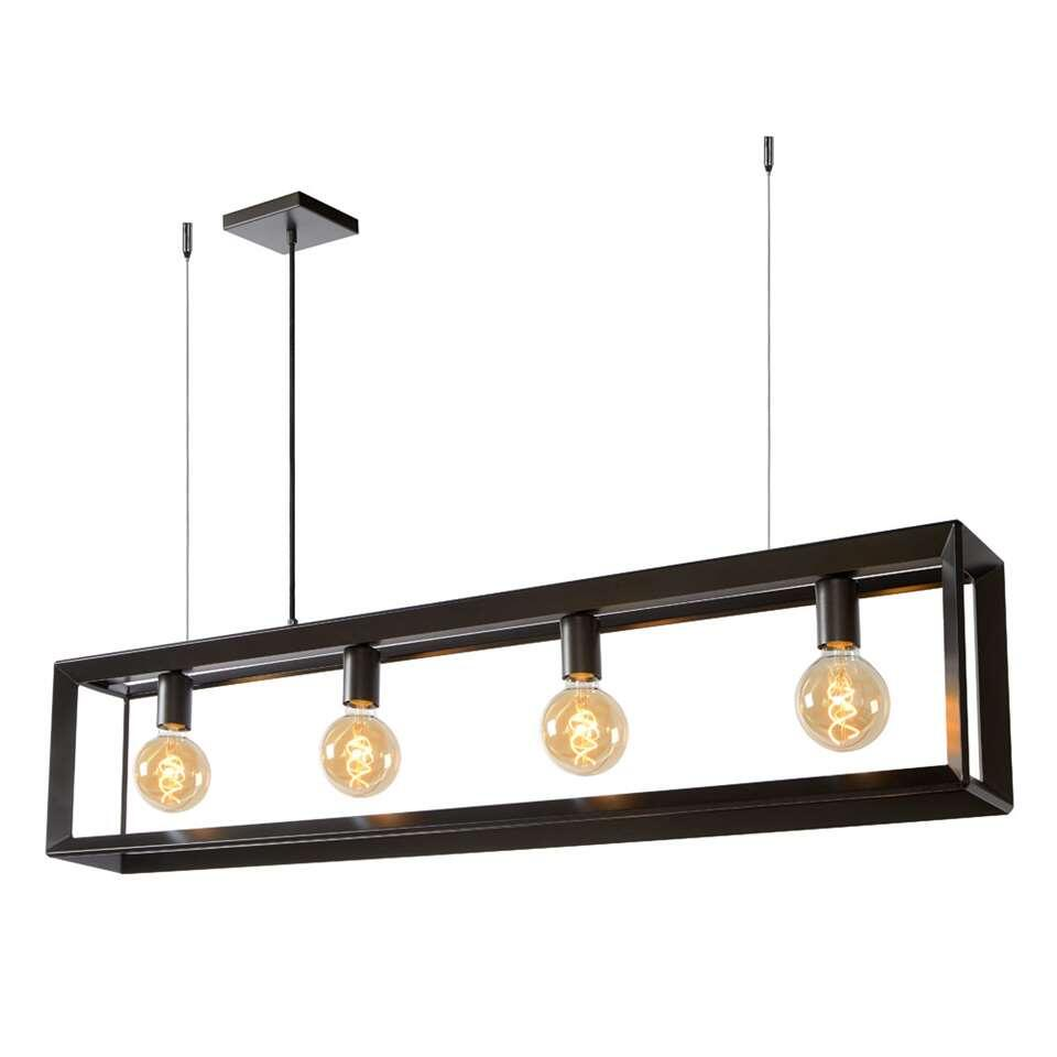 Lucide hanglamp Thor - grijs - 120x13x155 cm