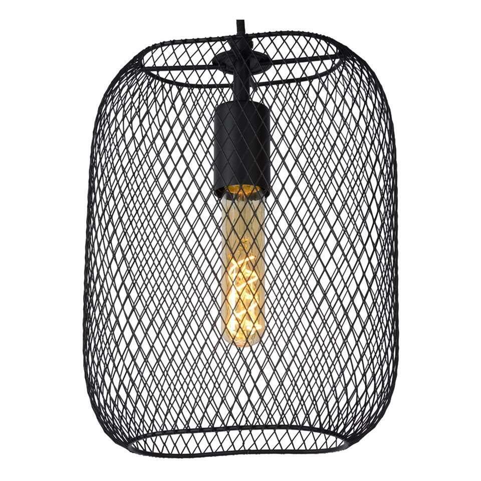 Lucide hanglamp Mesh - zwart - 23,5x12x160 cm