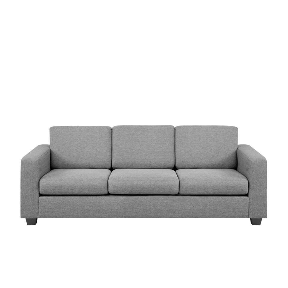 Canapé Varberg 3 places - tissu Portland - gris clair