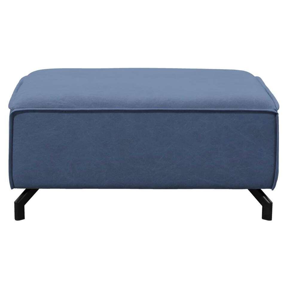 Hocker Jack - jeansblauw - 44x96x75 cm