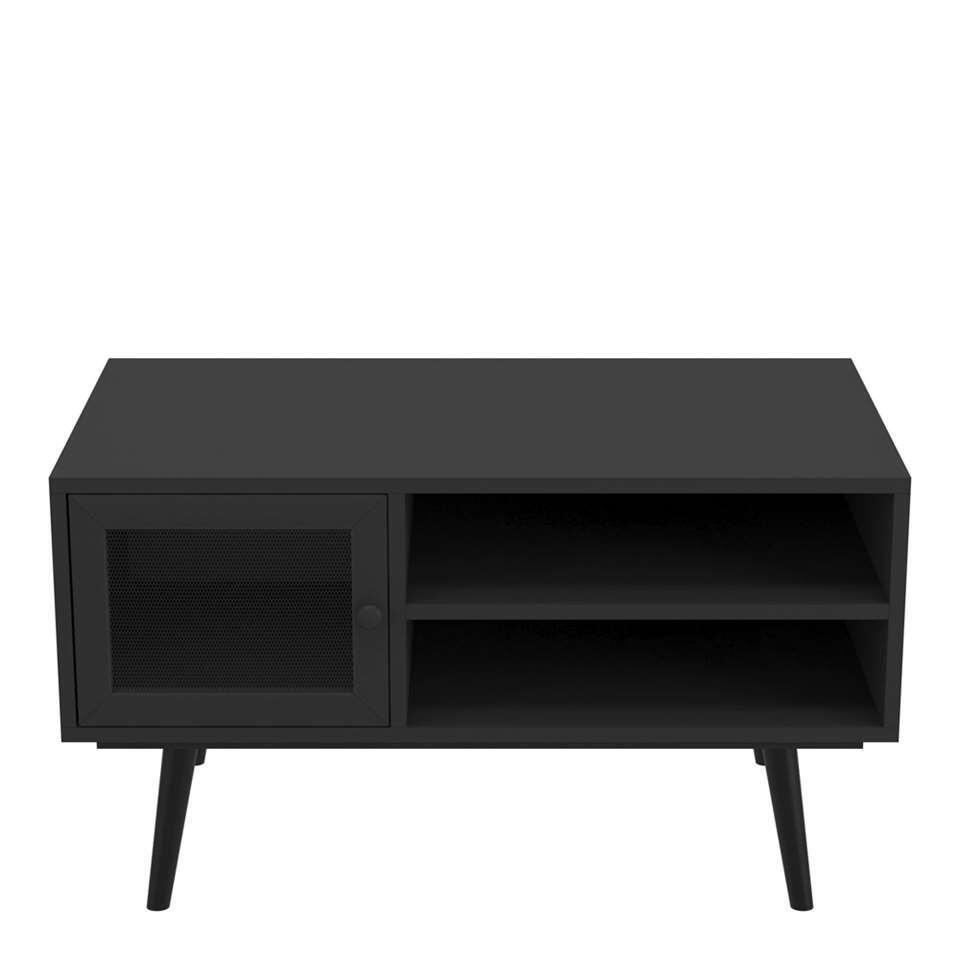 Demeyere salontafel Broadway - mat zwart - 45x80x48 cm