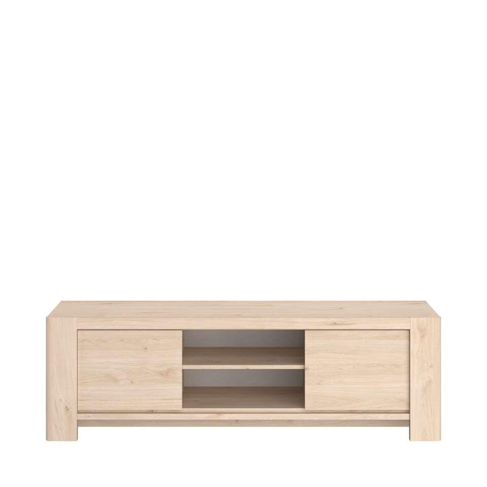 Parisot TV-meubel Portland - eikenkleur - 47x151x43 cm