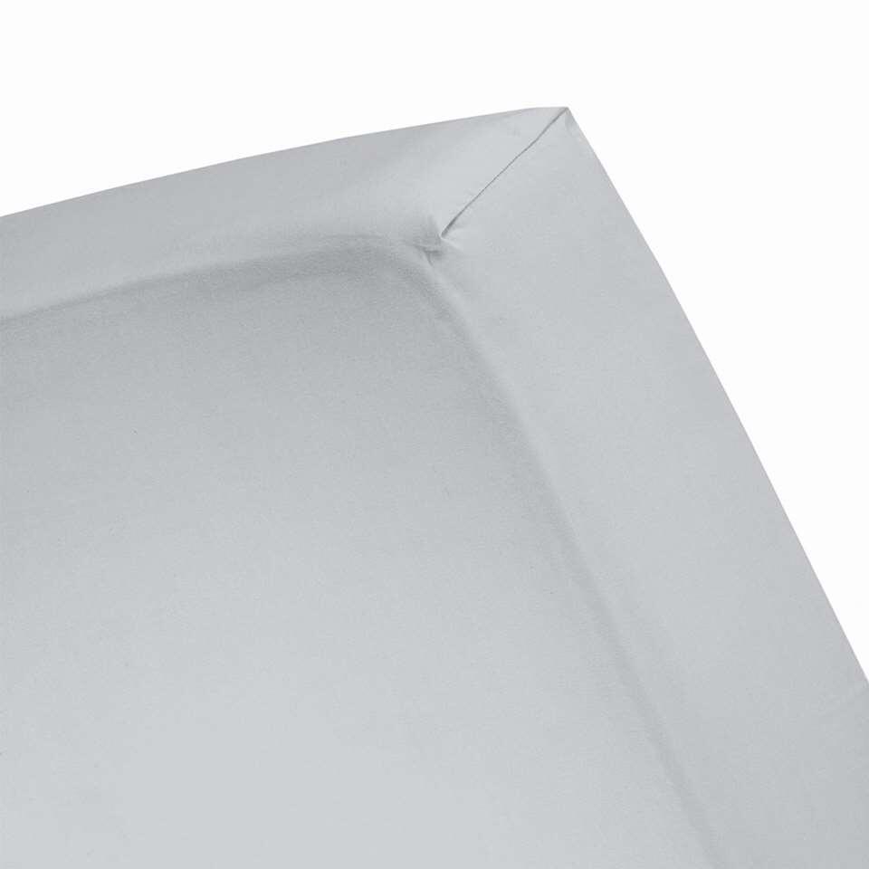 Cinderella hoeslaken - lichtgrijs - 90x200/210 cm - Leen Bakker