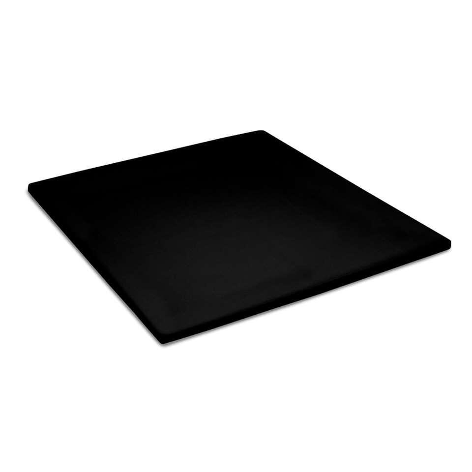 Cinderella topper hoeslaken - zwart - 180x210 centimeter