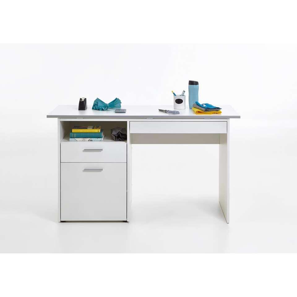 Bureau Hebron - wit - 74,7x51x126,8 cm