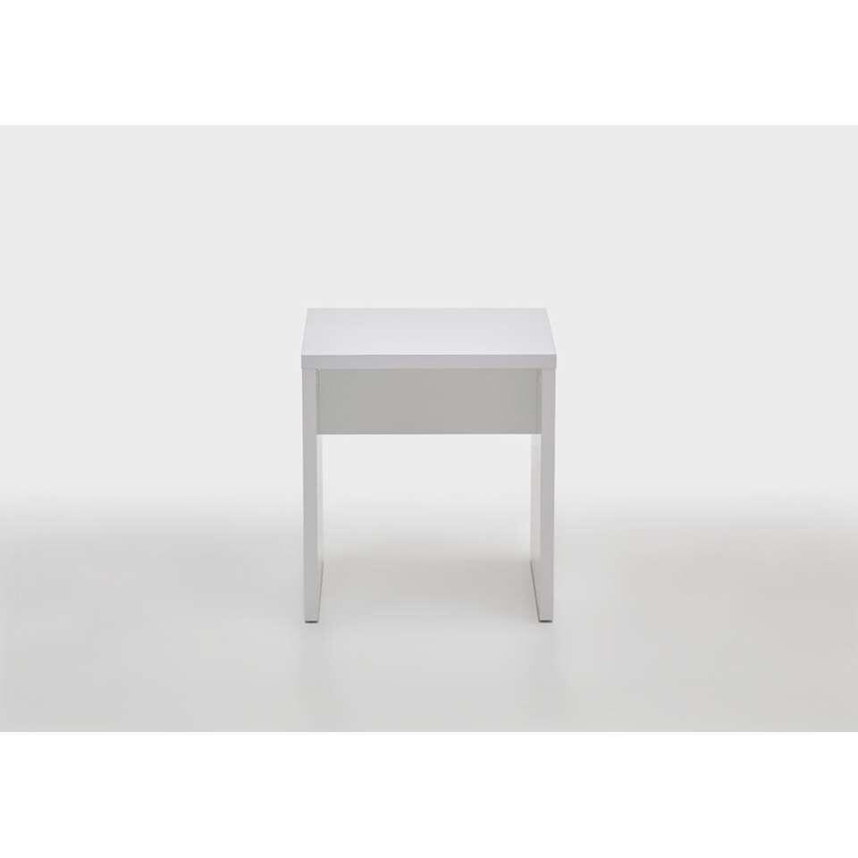 Kaptafelkruk Febe - wit - 40x44x35 cm