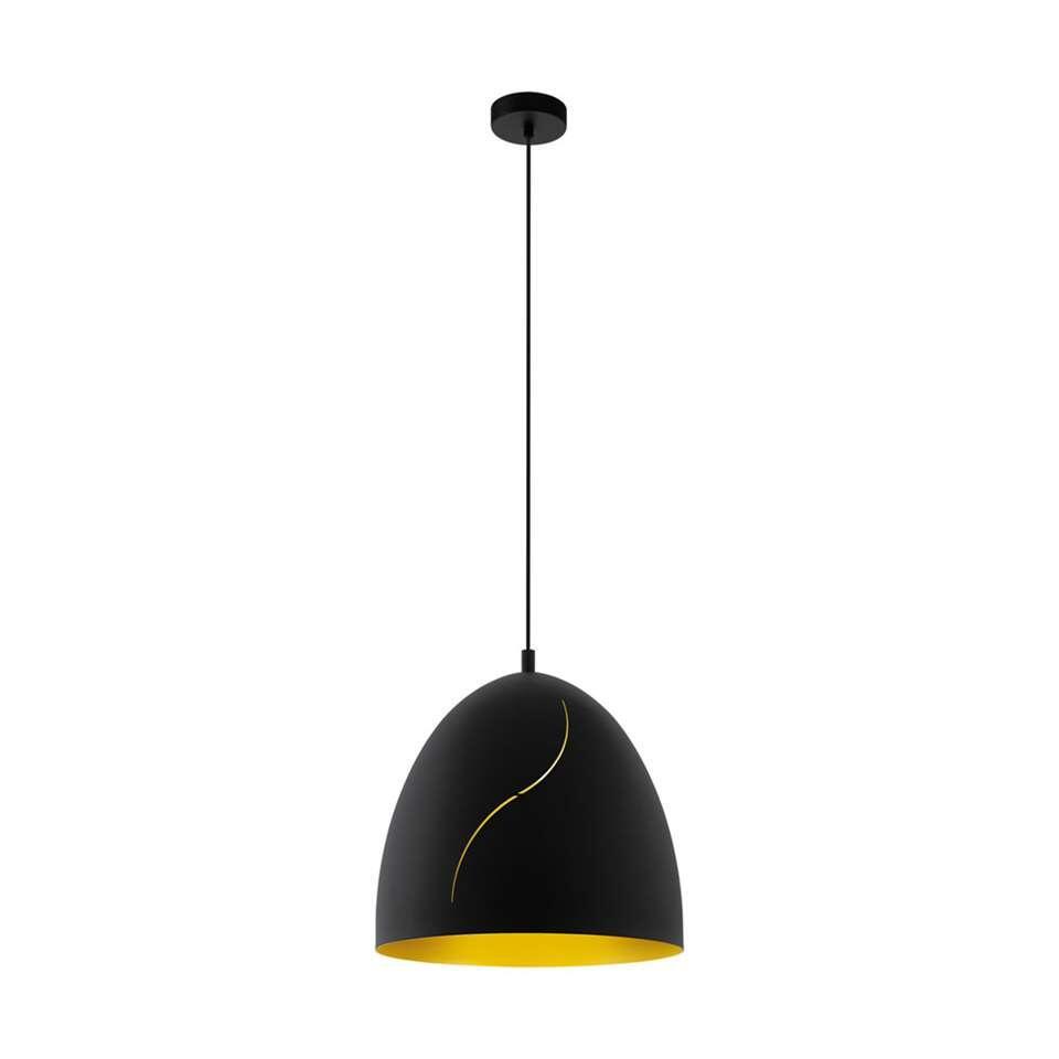 EGLO hanglamp Hunningham 40,5 cm - zwart/goud