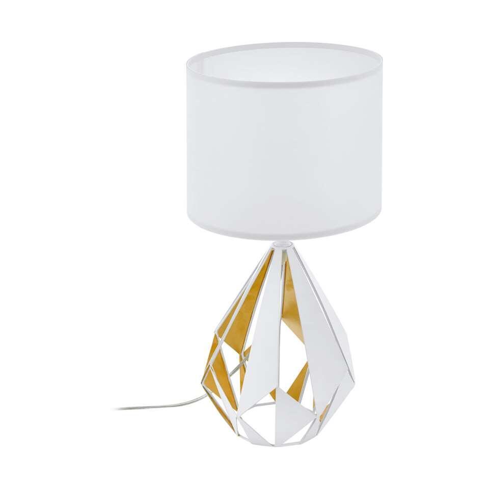 EGLO tafellamp Carlton 5 - wit/goud