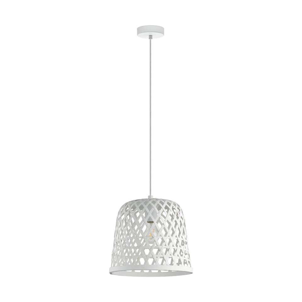 EGLO hanglamp Kirkcolm 30 cm – wit – Leen Bakker