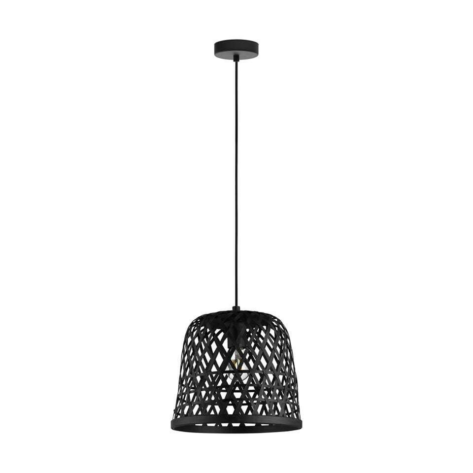 EGLO hanglamp Kirkcolm 30 cm - zwart