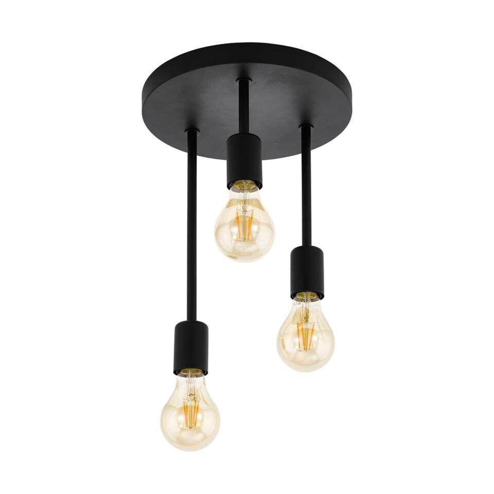 EGLO plafondlamp 3-lichts Wilmcote - zwart