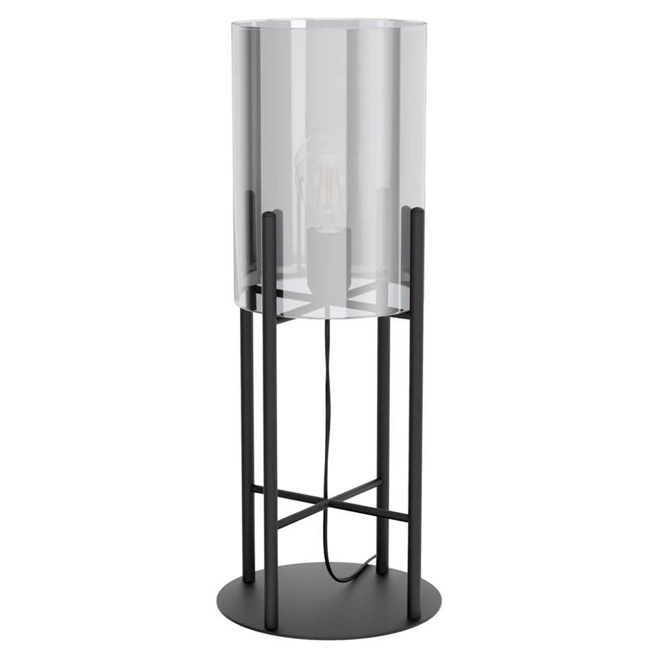 EGLO tafellamp Glastonbury - zwart