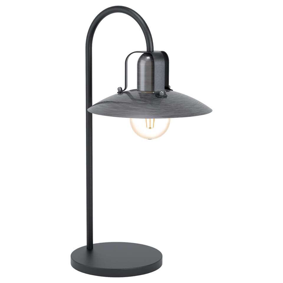 EGLO tafellamp Kenilworth - nikkel/zwart