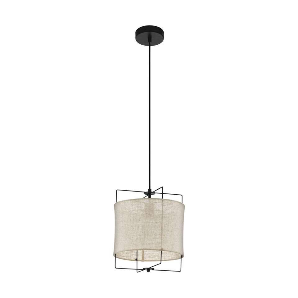 EGLO hanglamp Bridekirk 30 cm - zwart