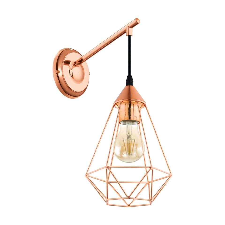 EGLO wandlamp Tarbes - koper