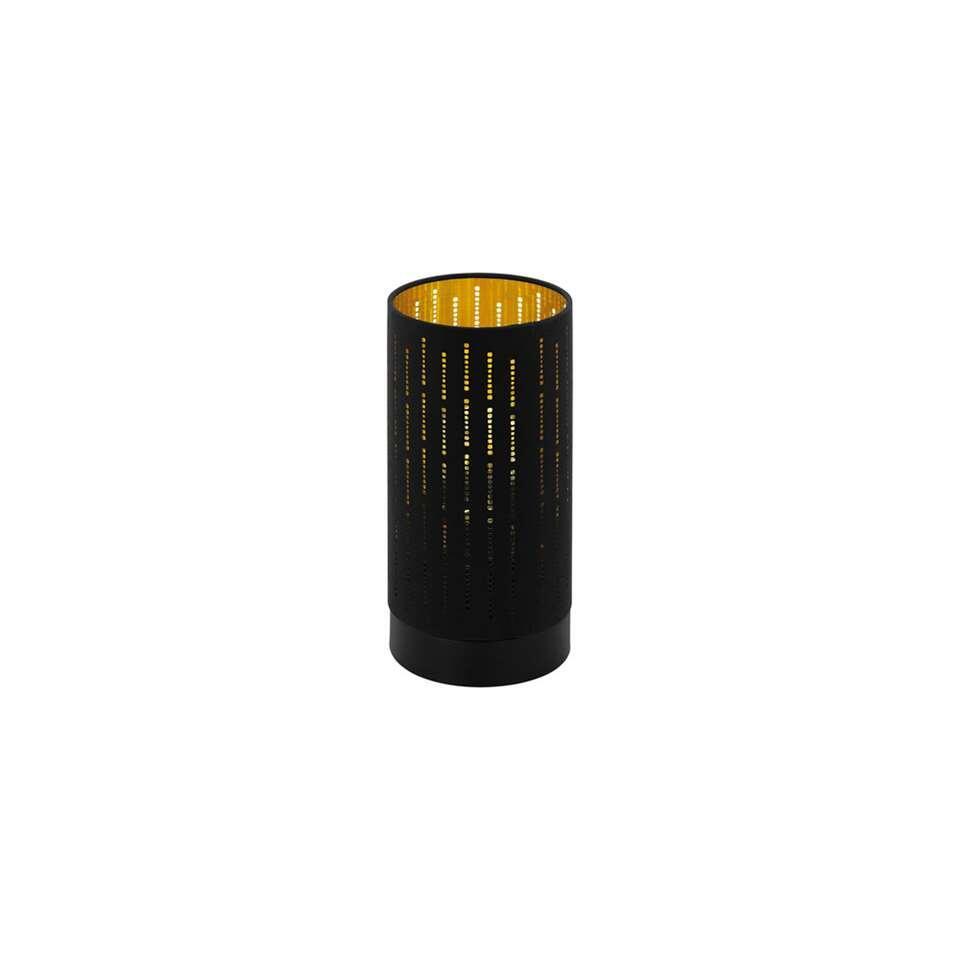 EGLO tafellamp Varillas - zwart/goud