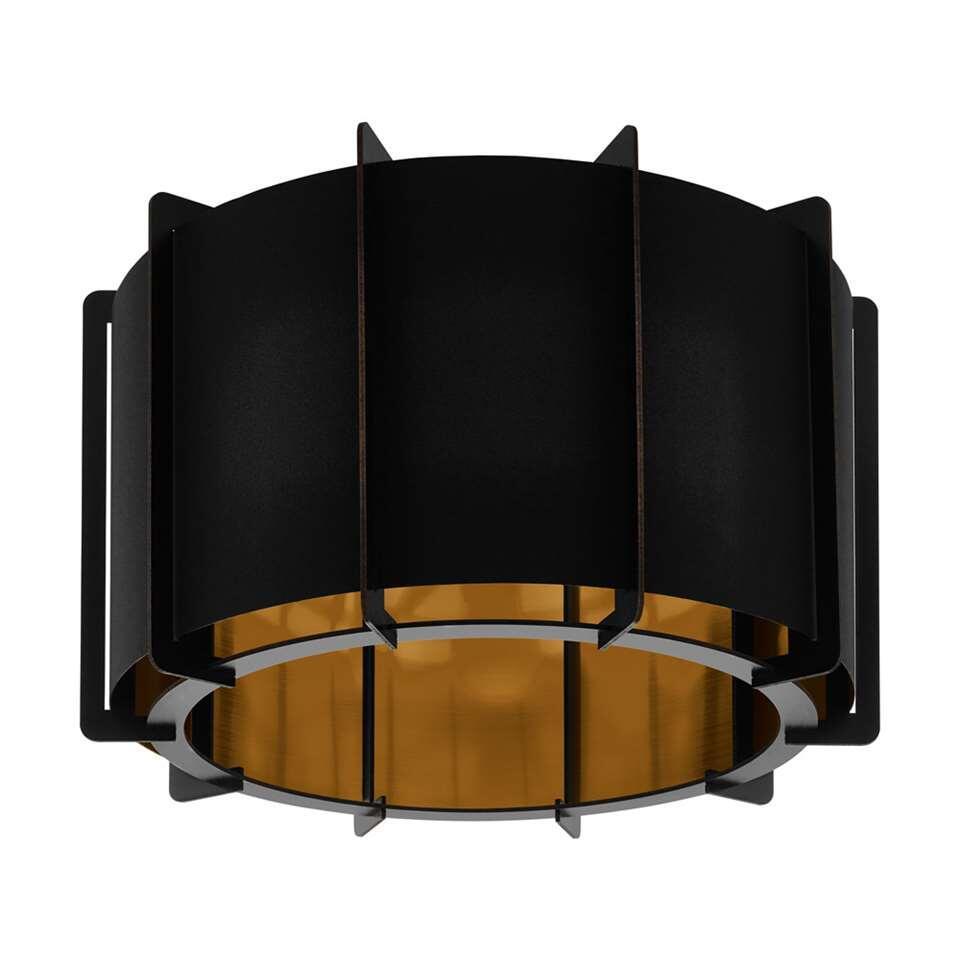 EGLO plafondlamp Pineta - zwart/goud
