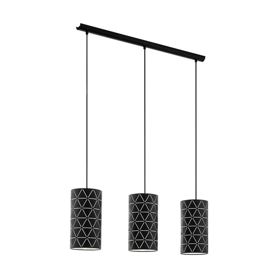 EGLO hanglamp 3-lichts Ramon - zwart