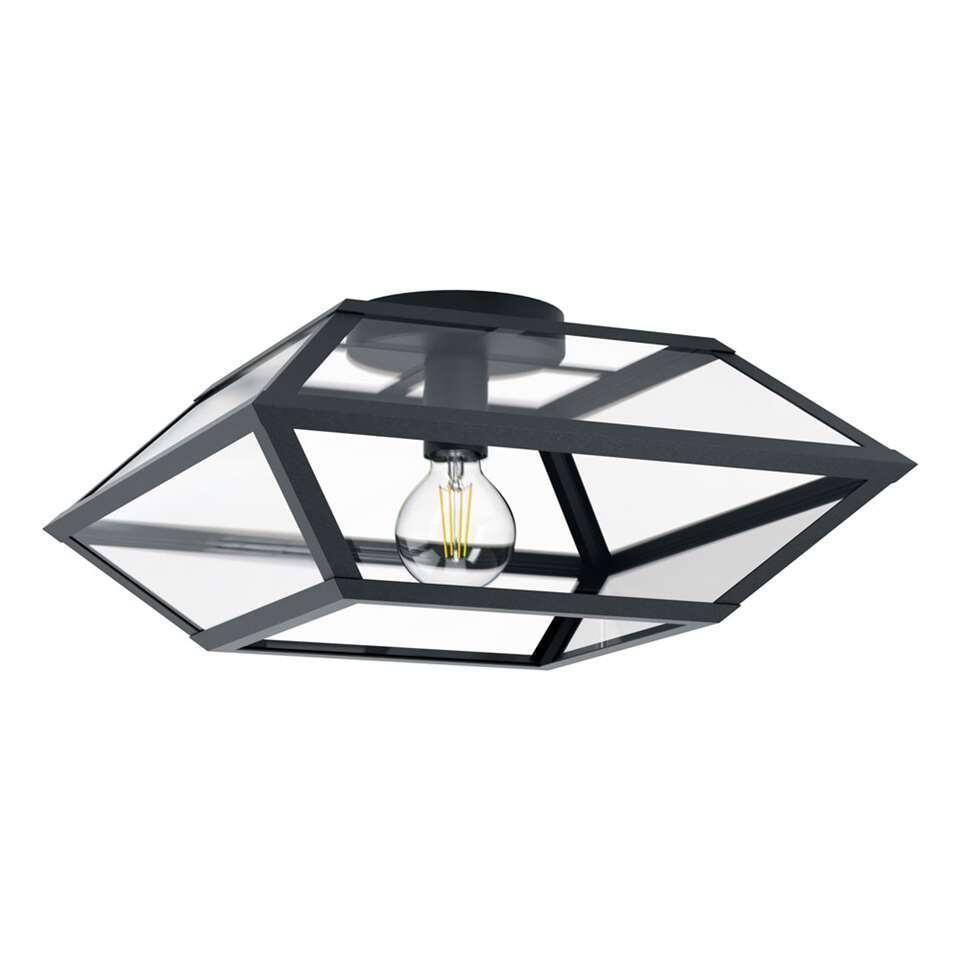 EGLO plafondlamp Casefabre 445 cm - zwart