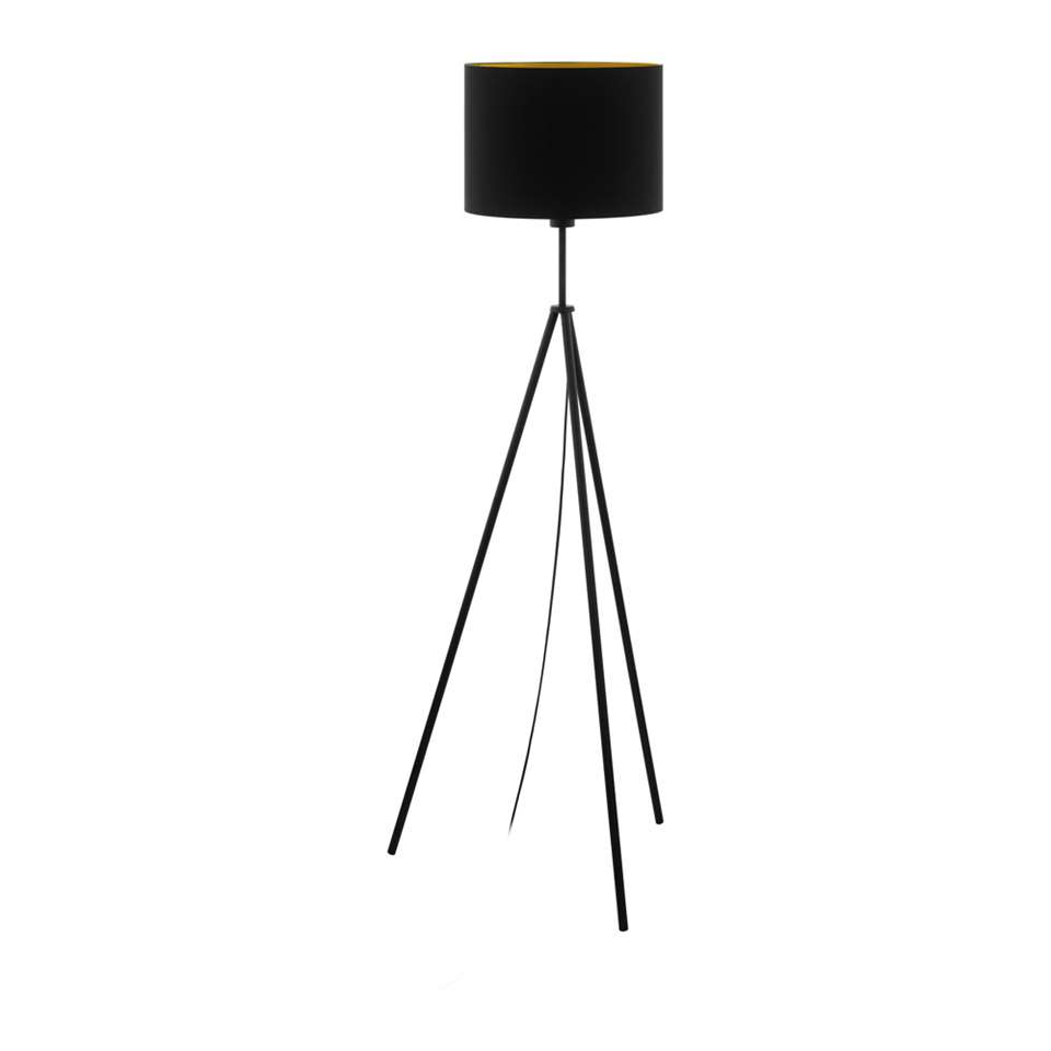 EGLO vloerlamp Scigliati - zwart