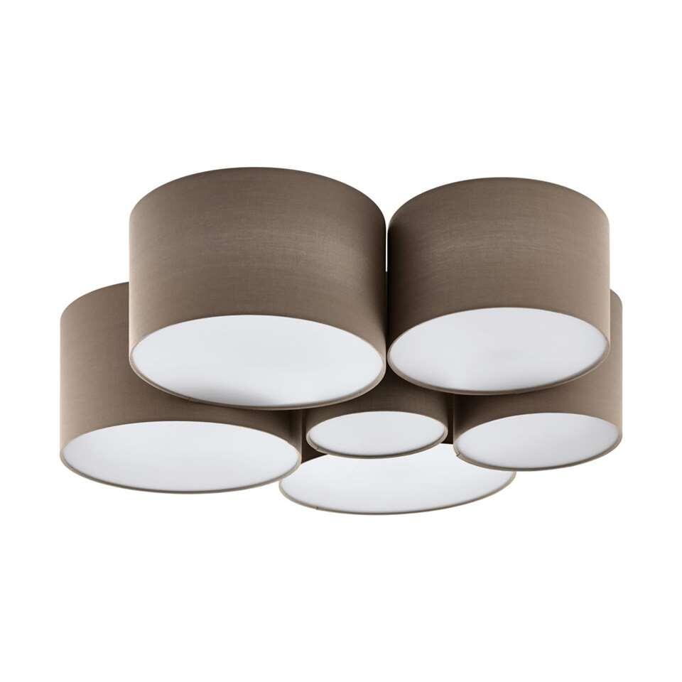 EGLO plafondlamp 6-lichts Pastore - taupe