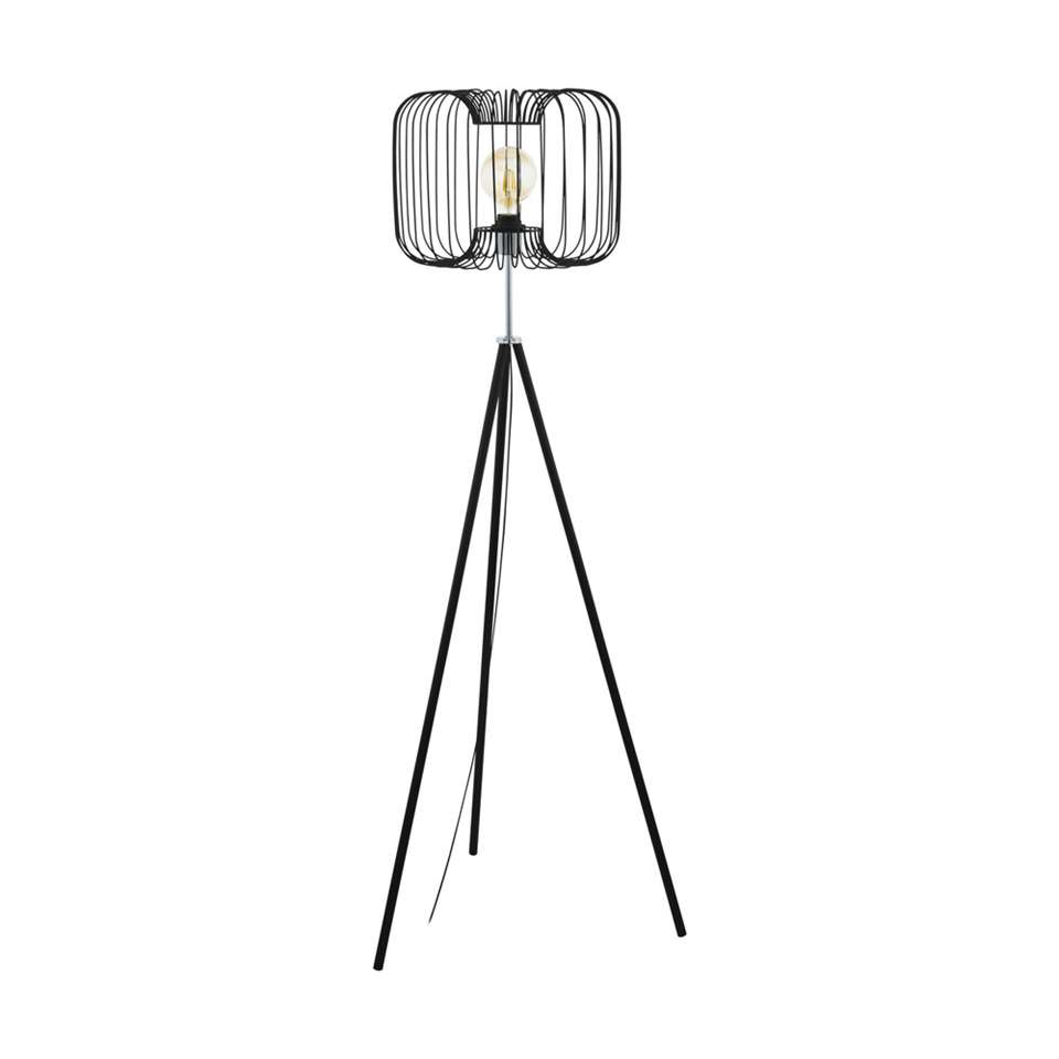 EGLO vloerlamp Corsavy - zwart