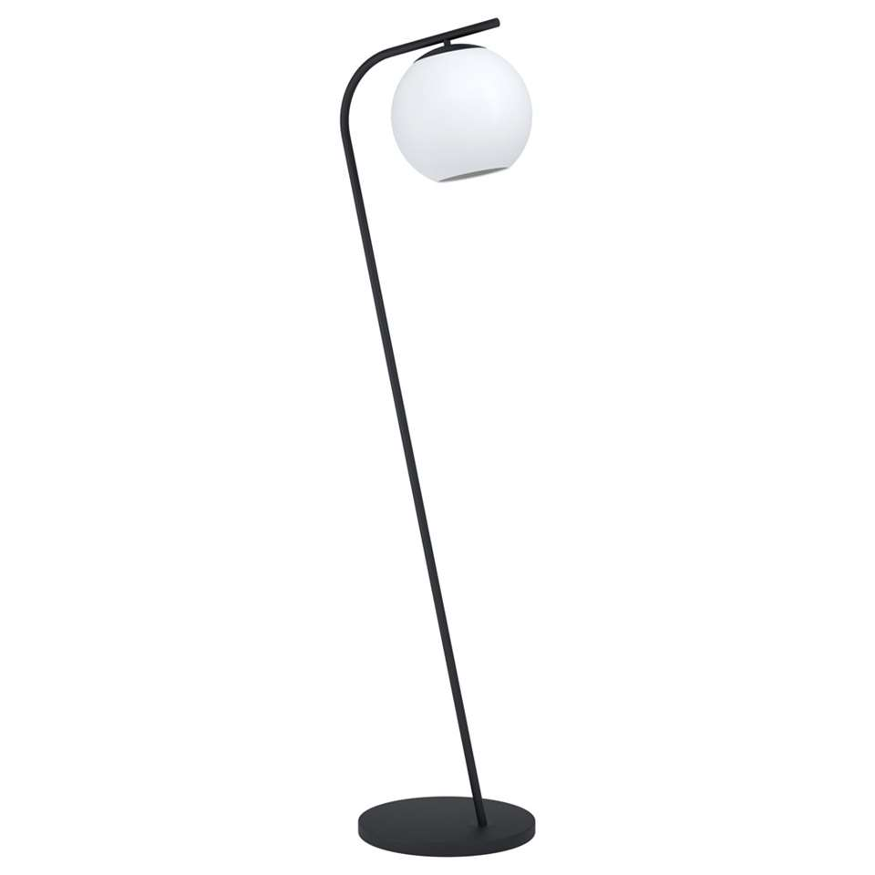 EGLO vloerlamp Terriente - nikkel